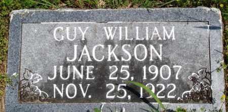 JACKSON, GUY WILLIAM - Baxter County, Arkansas | GUY WILLIAM JACKSON - Arkansas Gravestone Photos