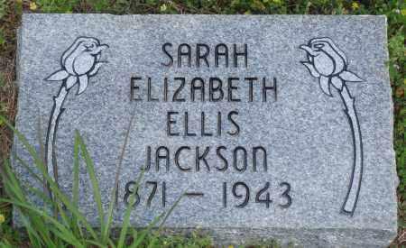 JACKSON, SARAH ELIZABETH - Baxter County, Arkansas | SARAH ELIZABETH JACKSON - Arkansas Gravestone Photos