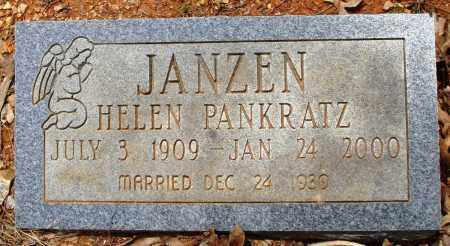 JANZEN, HELEN - Baxter County, Arkansas | HELEN JANZEN - Arkansas Gravestone Photos