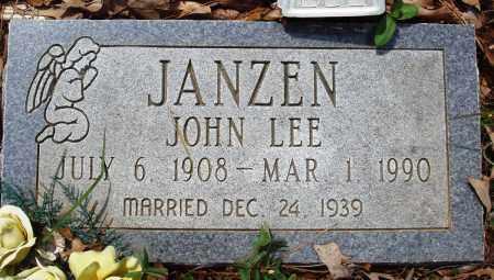 JANZEN, JOHN LEE - Baxter County, Arkansas | JOHN LEE JANZEN - Arkansas Gravestone Photos