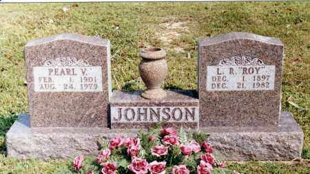 JOHNSON, L. R. 'ROY' - Baxter County, Arkansas   L. R. 'ROY' JOHNSON - Arkansas Gravestone Photos