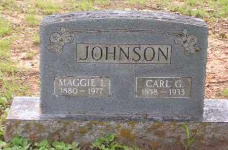 JOHNSON, CARL G. - Baxter County, Arkansas   CARL G. JOHNSON - Arkansas Gravestone Photos