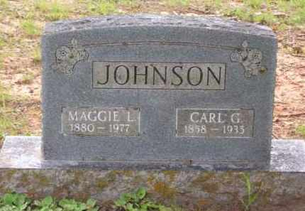 JOHNSON, MAGGIE L. - Baxter County, Arkansas | MAGGIE L. JOHNSON - Arkansas Gravestone Photos