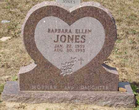 JONES, BARBARA ELLEN - Baxter County, Arkansas   BARBARA ELLEN JONES - Arkansas Gravestone Photos
