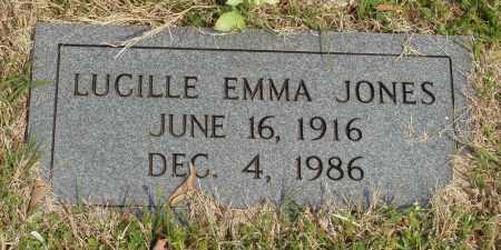 JONES, LUCILLE EMMA - Baxter County, Arkansas | LUCILLE EMMA JONES - Arkansas Gravestone Photos