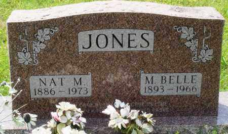 JONES, NAT M - Baxter County, Arkansas   NAT M JONES - Arkansas Gravestone Photos