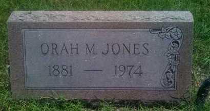 JONES, ORAH M. - Baxter County, Arkansas   ORAH M. JONES - Arkansas Gravestone Photos