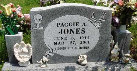 JONES, PAGGIE A - Baxter County, Arkansas | PAGGIE A JONES - Arkansas Gravestone Photos