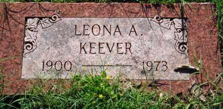 KEEVER, LEONA A - Baxter County, Arkansas   LEONA A KEEVER - Arkansas Gravestone Photos