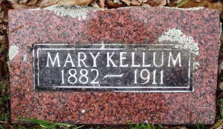 KELLUM, MARY - Baxter County, Arkansas | MARY KELLUM - Arkansas Gravestone Photos