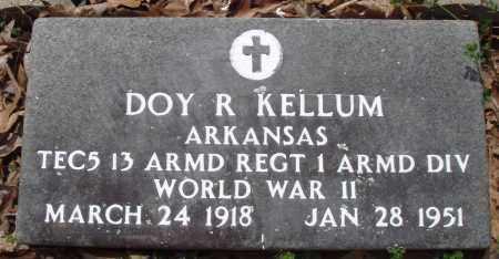 KELLUM (VETERAN WWII), DOY R - Baxter County, Arkansas | DOY R KELLUM (VETERAN WWII) - Arkansas Gravestone Photos