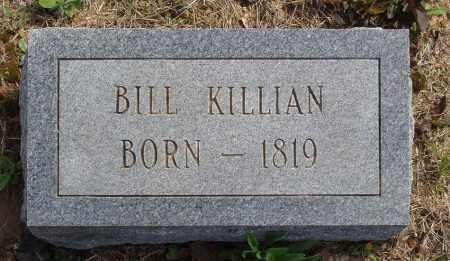 KILLIAN, BILL - Baxter County, Arkansas   BILL KILLIAN - Arkansas Gravestone Photos