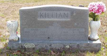 KILLIAN, ANNIE - Baxter County, Arkansas | ANNIE KILLIAN - Arkansas Gravestone Photos