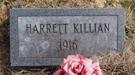 KILLIAN, HARRETT - Baxter County, Arkansas | HARRETT KILLIAN - Arkansas Gravestone Photos