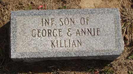 KILLIAN, INFANT SON - Baxter County, Arkansas | INFANT SON KILLIAN - Arkansas Gravestone Photos