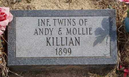 KILLIAN, INFANT TWINS - Baxter County, Arkansas | INFANT TWINS KILLIAN - Arkansas Gravestone Photos