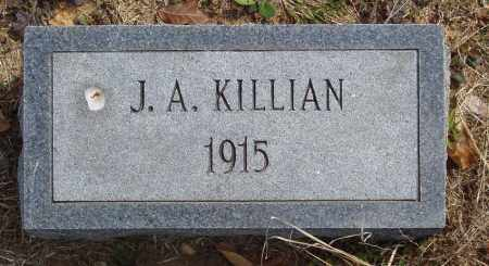 KILLIAN, J. A. - Baxter County, Arkansas | J. A. KILLIAN - Arkansas Gravestone Photos