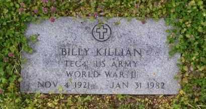 KILLIAN (VETERAN WWII), BILLY - Baxter County, Arkansas | BILLY KILLIAN (VETERAN WWII) - Arkansas Gravestone Photos