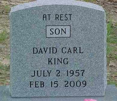 KING, DAVID CARL - Baxter County, Arkansas | DAVID CARL KING - Arkansas Gravestone Photos
