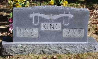 "KING, CHARLES HAMPTON ""HAMP"" - Baxter County, Arkansas | CHARLES HAMPTON ""HAMP"" KING - Arkansas Gravestone Photos"