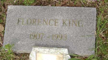 KING, FLORENCE - Baxter County, Arkansas | FLORENCE KING - Arkansas Gravestone Photos