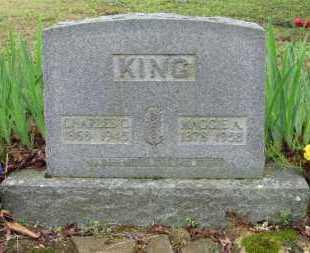KING, MAGGIE ALICE - Baxter County, Arkansas | MAGGIE ALICE KING - Arkansas Gravestone Photos