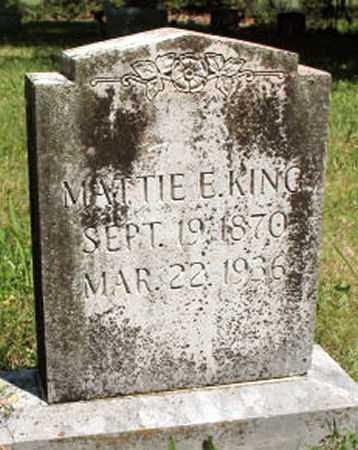 KING, MATTIE - Baxter County, Arkansas | MATTIE KING - Arkansas Gravestone Photos