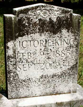 KING, VICTOR E. - Baxter County, Arkansas | VICTOR E. KING - Arkansas Gravestone Photos