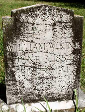 KING, WILLIAM WILKINS - Baxter County, Arkansas | WILLIAM WILKINS KING - Arkansas Gravestone Photos