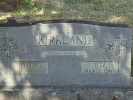 KIRKLAND, MYRTLE - Baxter County, Arkansas | MYRTLE KIRKLAND - Arkansas Gravestone Photos