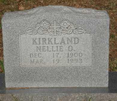 KIRKLAND, NELLIE O. - Baxter County, Arkansas | NELLIE O. KIRKLAND - Arkansas Gravestone Photos