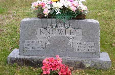 KNOWLES, JOHN EARL - Baxter County, Arkansas | JOHN EARL KNOWLES - Arkansas Gravestone Photos