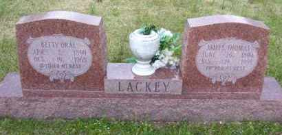 LACKEY, BETTY ORAL - Baxter County, Arkansas | BETTY ORAL LACKEY - Arkansas Gravestone Photos