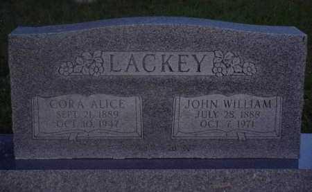 LACKEY, JOHN WILLIAM - Baxter County, Arkansas | JOHN WILLIAM LACKEY - Arkansas Gravestone Photos