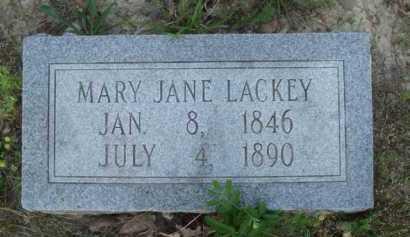 LACKEY, MARY JANE - Baxter County, Arkansas   MARY JANE LACKEY - Arkansas Gravestone Photos