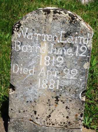 LAIRD, WARREN - Baxter County, Arkansas | WARREN LAIRD - Arkansas Gravestone Photos