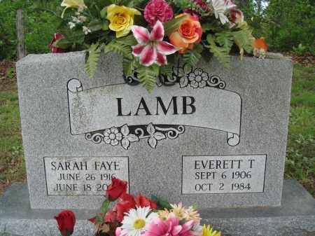 LAMB, SARAH FAYE - Baxter County, Arkansas | SARAH FAYE LAMB - Arkansas Gravestone Photos