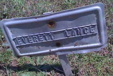 LANCE, EVERETT - Baxter County, Arkansas | EVERETT LANCE - Arkansas Gravestone Photos