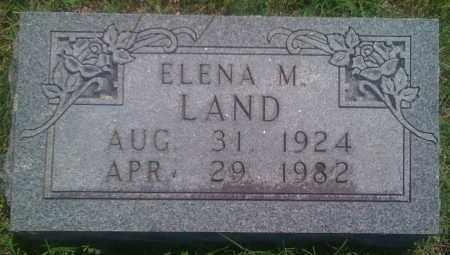 LAND, ELENA M. - Baxter County, Arkansas | ELENA M. LAND - Arkansas Gravestone Photos