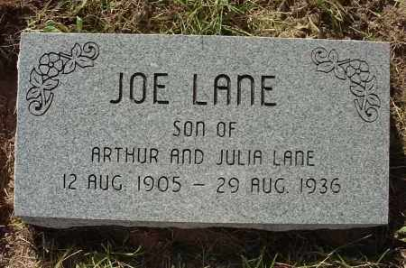 LANE, JOE - Baxter County, Arkansas | JOE LANE - Arkansas Gravestone Photos
