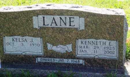 LANE, KENNETH L - Baxter County, Arkansas | KENNETH L LANE - Arkansas Gravestone Photos