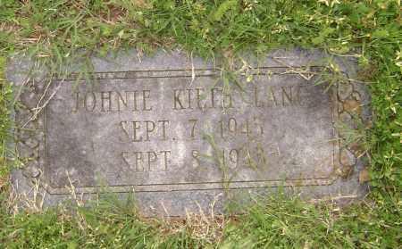 LANG, JOHNNIE KEITH - Baxter County, Arkansas | JOHNNIE KEITH LANG - Arkansas Gravestone Photos