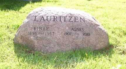 LAURITZEN, AGNES - Baxter County, Arkansas | AGNES LAURITZEN - Arkansas Gravestone Photos