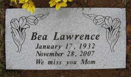 LAWRENCE, BEA - Baxter County, Arkansas | BEA LAWRENCE - Arkansas Gravestone Photos
