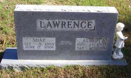 LAWRENCE, SOAE - Baxter County, Arkansas | SOAE LAWRENCE - Arkansas Gravestone Photos