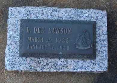 LAWSON, L. DEE - Baxter County, Arkansas   L. DEE LAWSON - Arkansas Gravestone Photos