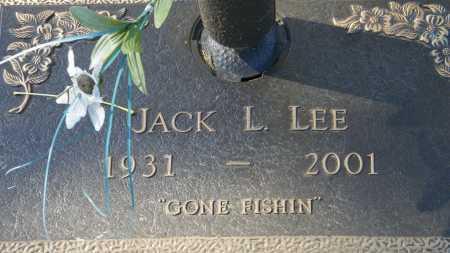 LEE, JACK L - Baxter County, Arkansas | JACK L LEE - Arkansas Gravestone Photos