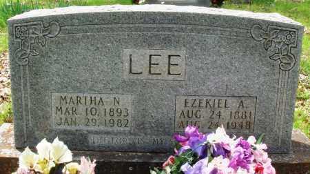 LEE, EZEKIEL A - Baxter County, Arkansas | EZEKIEL A LEE - Arkansas Gravestone Photos