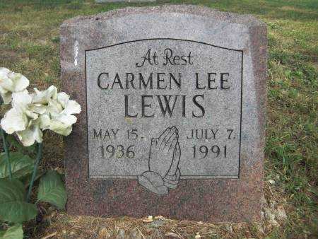 LEWIS, CARMEN LEE - Baxter County, Arkansas | CARMEN LEE LEWIS - Arkansas Gravestone Photos