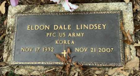 LINDSEY (VETERAN KOR), ELDON DALE - Baxter County, Arkansas | ELDON DALE LINDSEY (VETERAN KOR) - Arkansas Gravestone Photos
